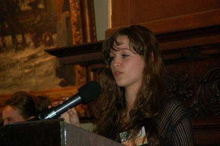 Eline's toespraak